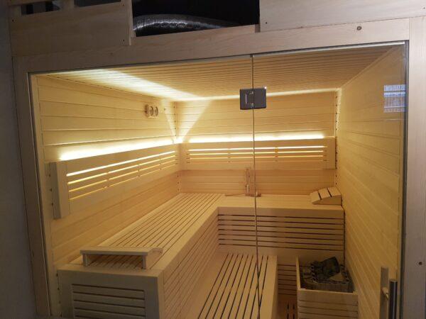 moderní finská sauna